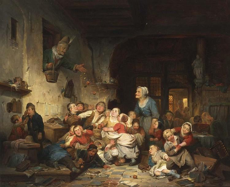 FERDINAND DE BRAEKELEER DUTCH, 1792-1883