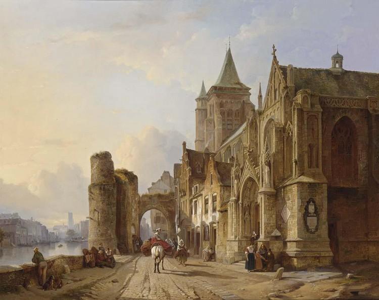 FRANÇOIS ANTOINE BOSSUET BELGIAN, 1800-1889