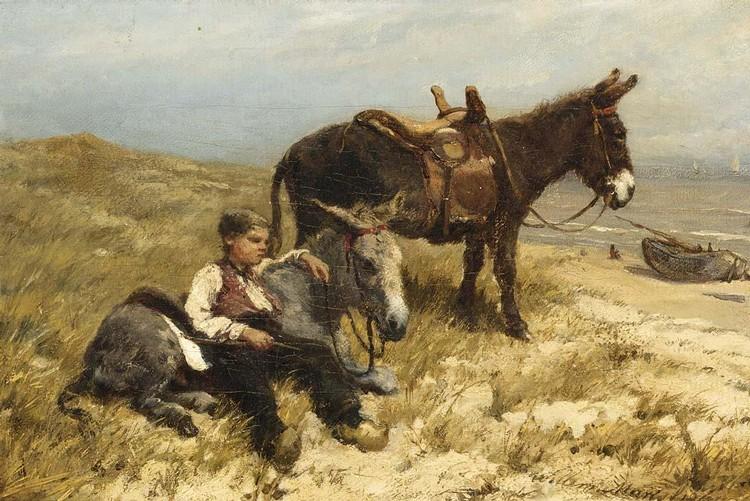 WILLEM MARIS DUTCH, 1844-1910