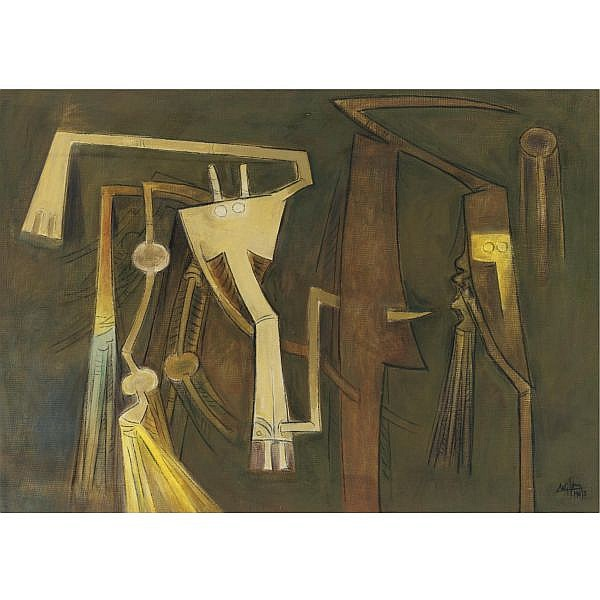 Wifredo Lam (1902-1982) , Personnage