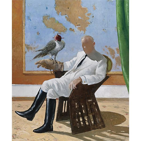 Julio Larraz (B. 1944) , For you, Anaxagoras
