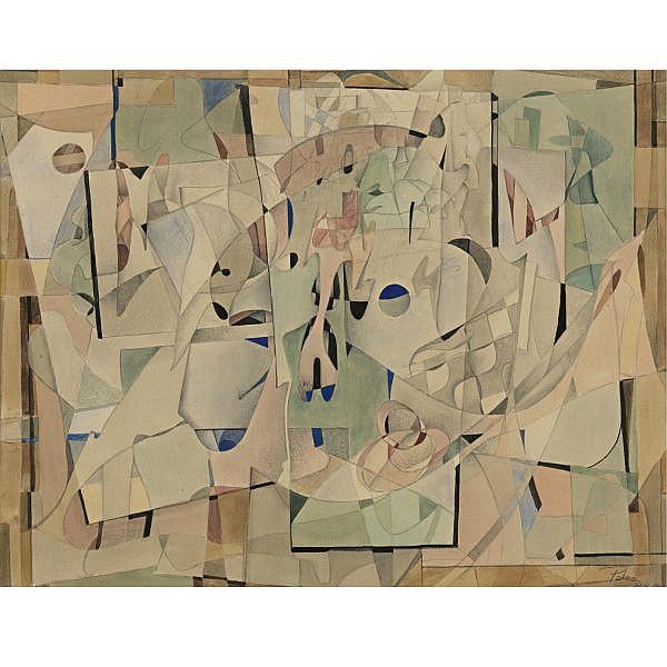 Hector Poleo (1918-1989) , Composition
