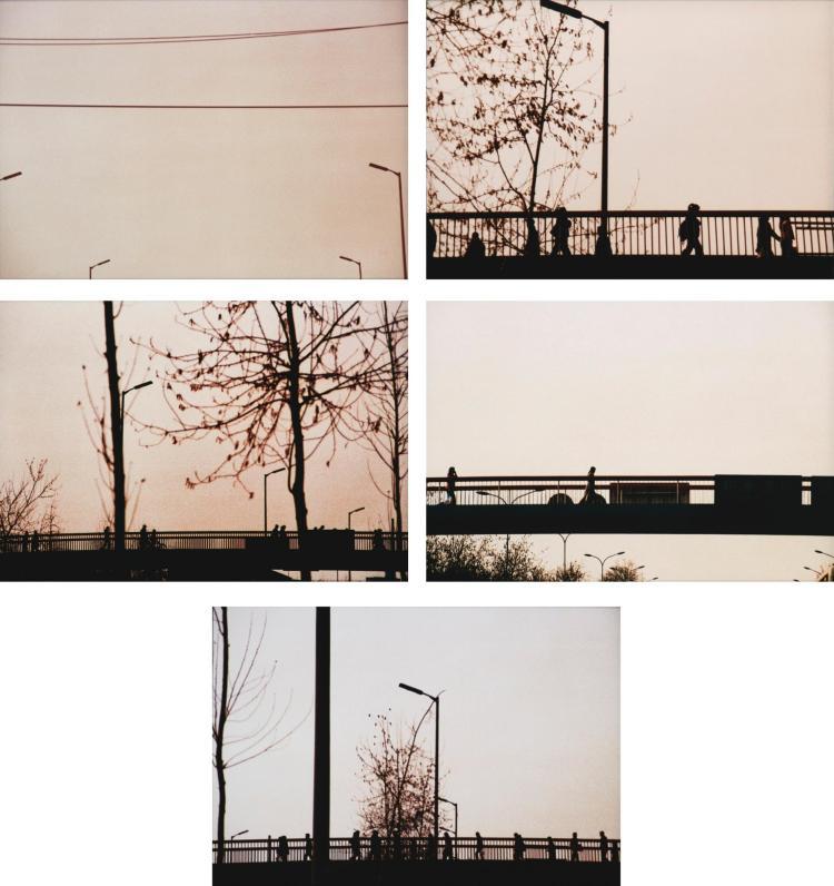 LIANG YUE | Sky, on the Bridge (set of five)