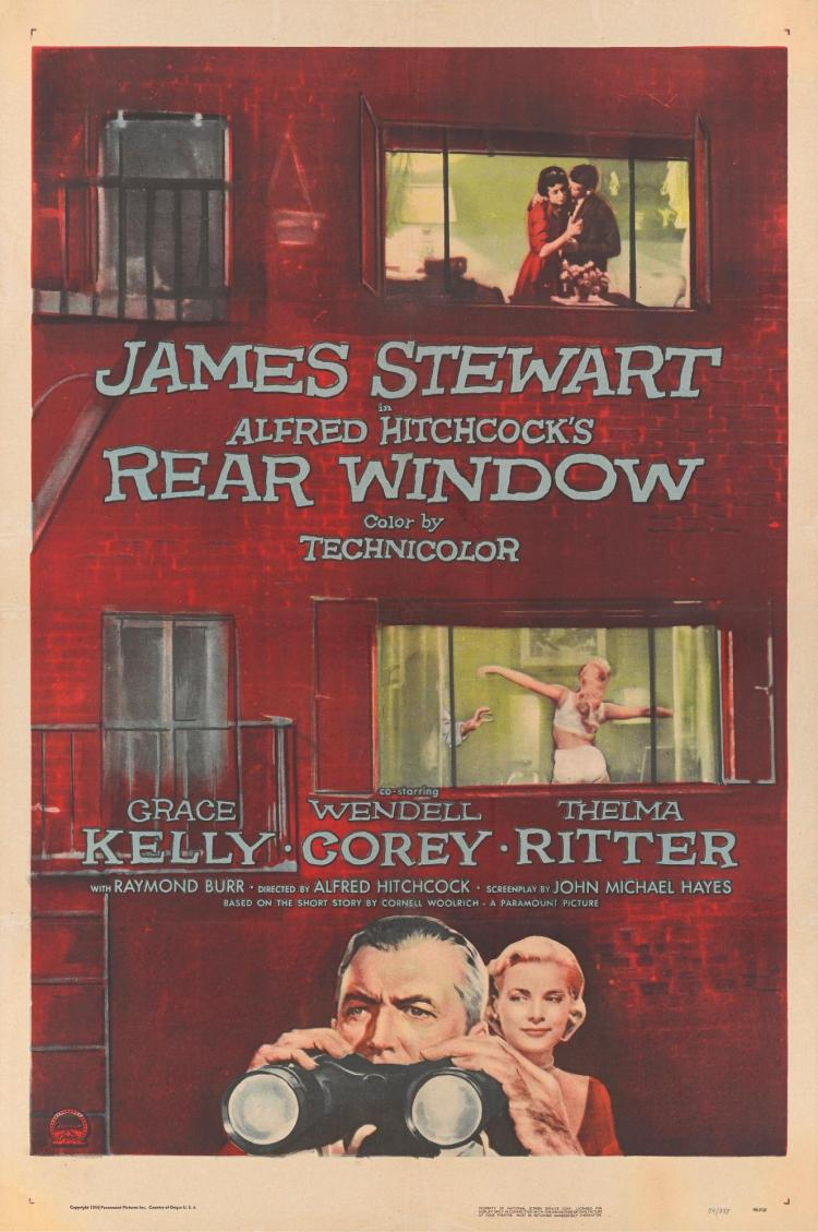 a description of the rear window which works extremely well as a suspense thriller There's one star who has done an extremely good job he also starred in disturbia, a well-made teenage is the premise it borrows directly from rear window.