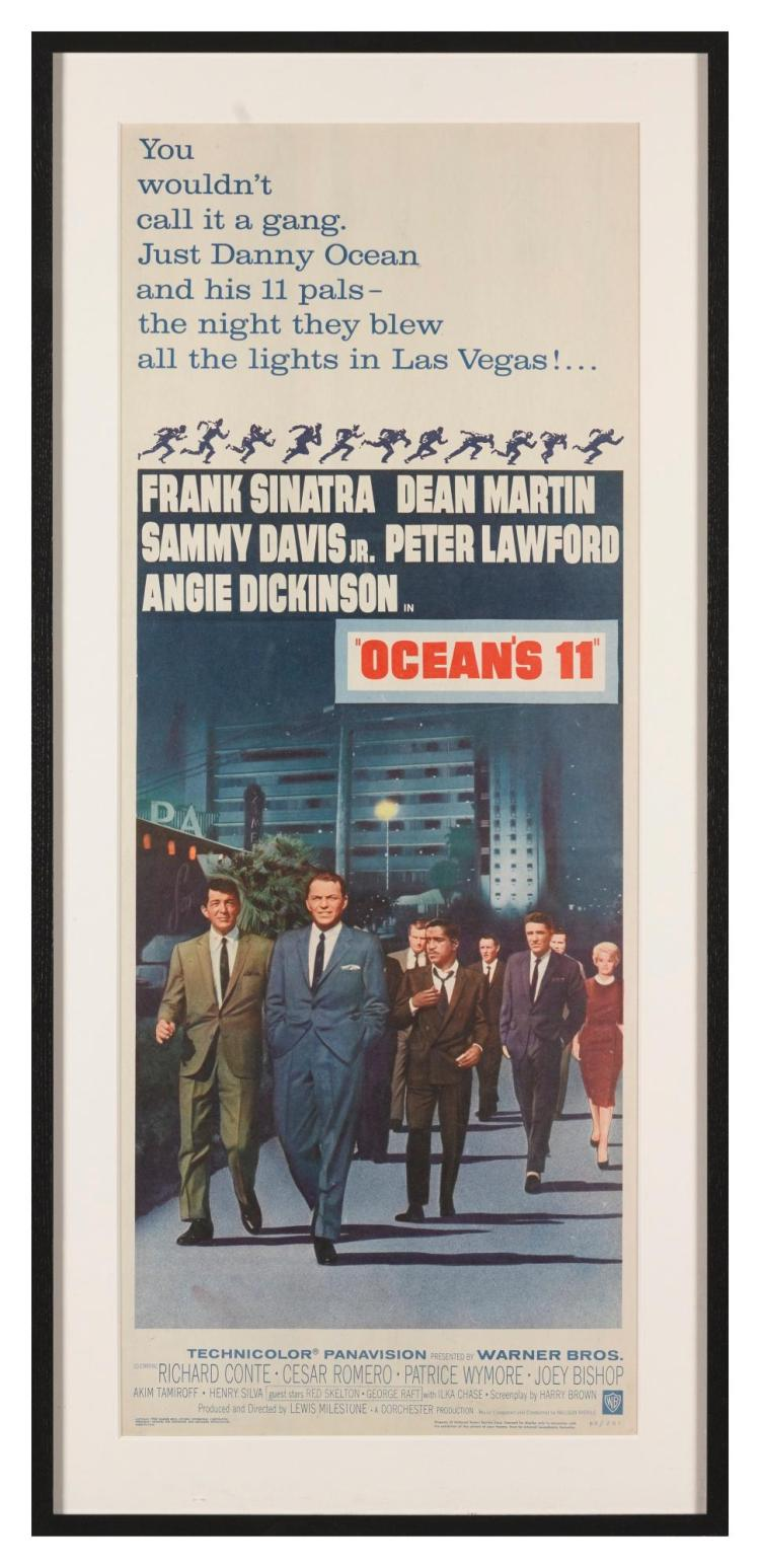 'OCEAN'S 11' (1960) POSTER, US | Bill Gold (b.1921)