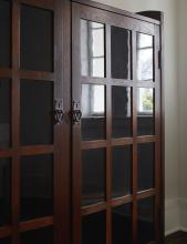 GUSTAV STICKLEY | Two-Door Bookcase, Model No.718
