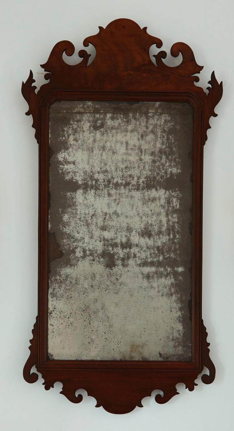 CHIPPENDALE LOOKING GLASS |