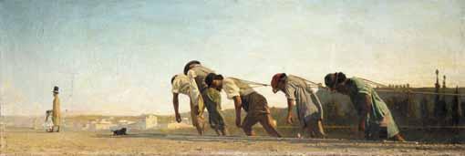 f - TELEMACO SIGNORINI ITALIAN, 1835-1901