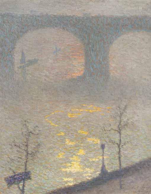 f - ÉMILE CLAUS BELGIAN, 1849-1924
