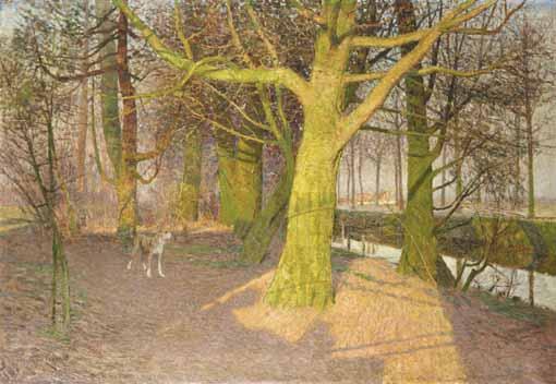 ÉMILE CLAUS BELGIAN, 1849-1924