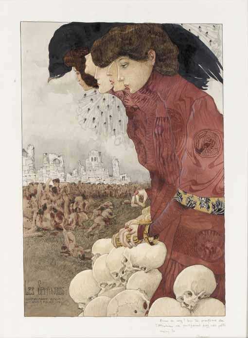 GUSTAV ADOLF MOSSA FRENCH, 1883-1971