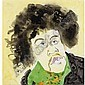 Patrick Procktor, R.A. , 1936-2003 Jimi Hendrix watercolour, Patrick Procktor, Click for value