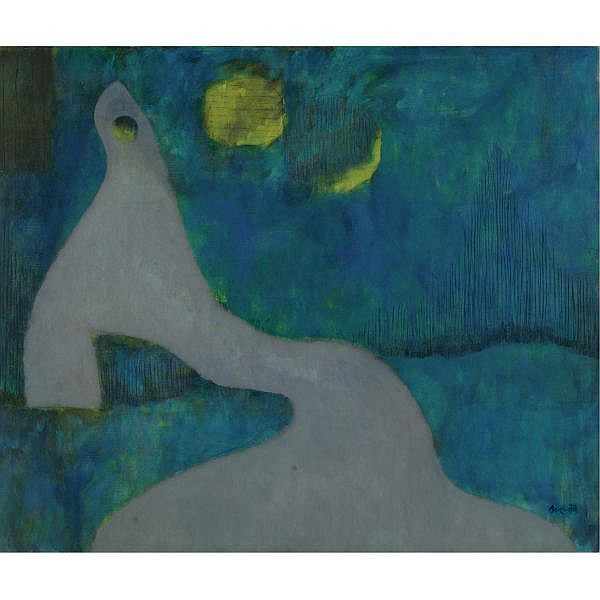 - William Baziotes , 1912-1963 Eclipse oil on canvas