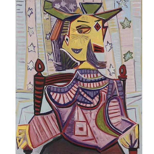 - Mike Bidlo , b. 1954 Not Picasso (Dora Maar Sitting, 1939) oil on linen