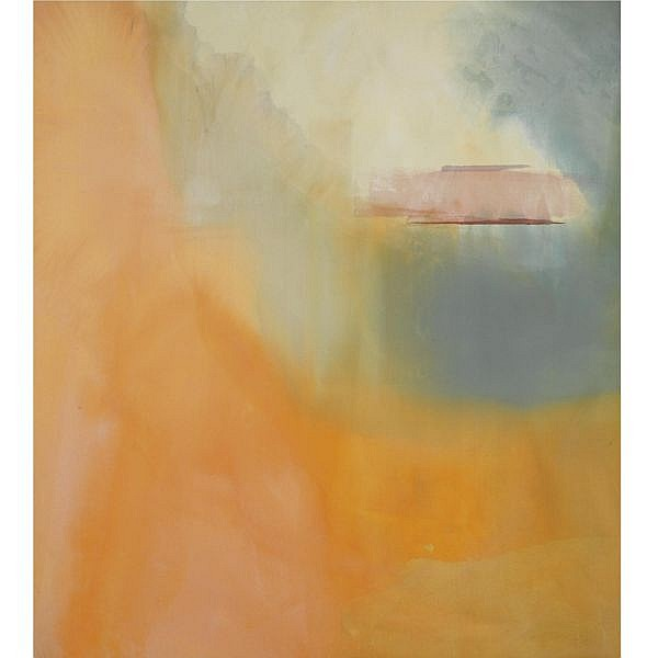 Helen Frankenthaler , b. 1928 Nadir Rising acrylic on canvas