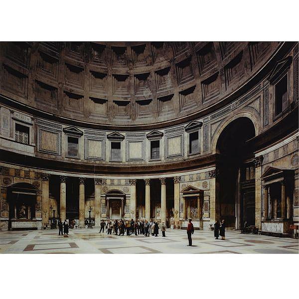 Thomas Struth , b. 1954 Pantheon, Rome Cibachrome print