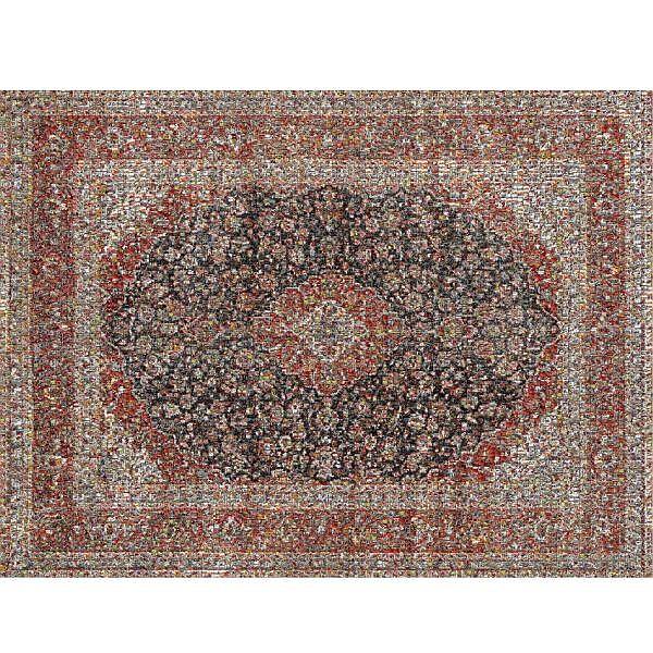 Rashid Rana , b. 1968 Red Carpet - 1 Chromogenic print mounted on Diasec