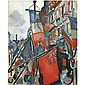 Raoul Dufy , 1877-1953 LE HAVRE, 14 JUILLET oil on canvas   , Raoul Dufy, Click for value