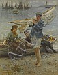 HENRY SCOTT TUKE, R.A., R.W.S., Henry Scott Tuke, Click for value