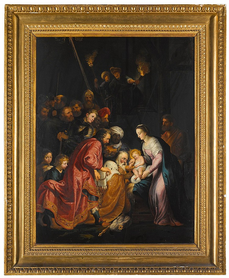 AFTER SIR PETER PAUL RUBENS | The Adoration of the Magi