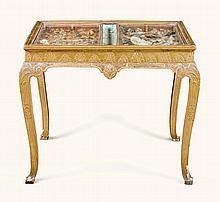 A GEORGE I GILTWOOD CABINET STAND, PART EARLY 18TH CENTURY |