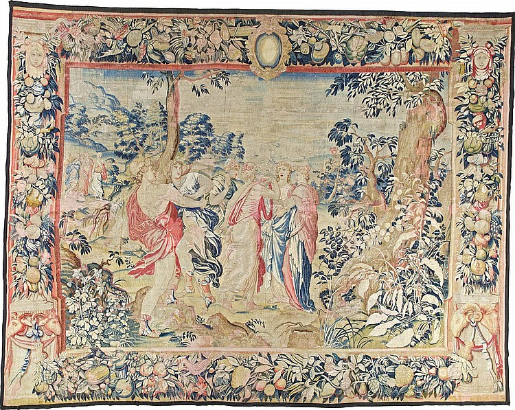 A FLEMISH MYTHOLOGICAL TAPESTRY, BRUSSELS LATE 16TH AND LATER |