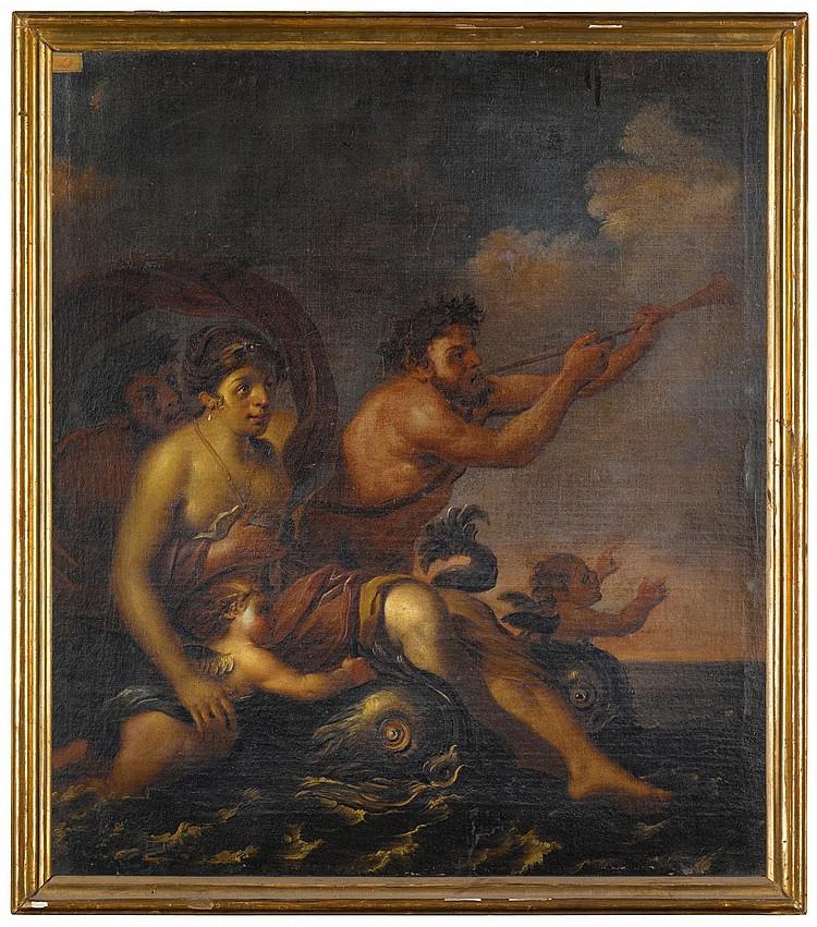 ATTRIBUTED TO FRANCESCO PODESTI | Venus and Triton