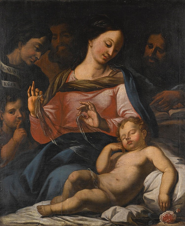 AFTER CARLO MARATTA | The Holy Family