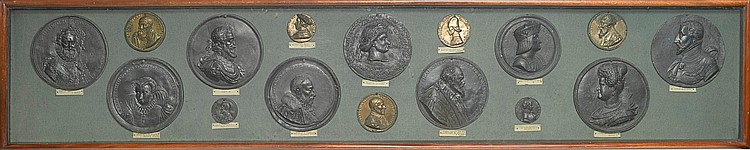 AN INTERESTING COLLECTION OF RENAISSANCE AND LATER MEDALS CIRCA 1500 AND LATER |