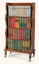 AN EDWARDIAN GILT-BRASS MOUNTED MAHOGANY DWARF BOOKCASE, EARLY 20TH CENTURY |