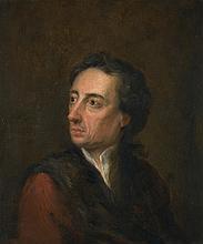 JONATHAN RICHARDSON   Portrait of Alexander Pope