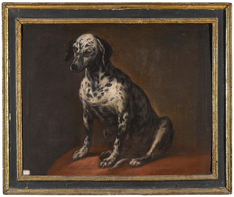 DALMATIAN SCHOOL, 18TH CENTURY | Portrait of a Dalmatian