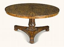 A WILLIAM IV ROSEWOOD BREAKFAST TABLE, CIRCA 1835 |