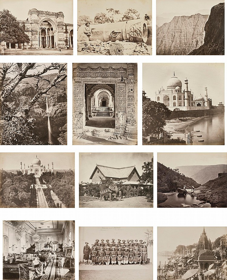 ALBUM OF PHOTOGRAPHS OF INDIA