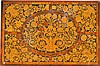 A WILLIAM AND MARY WALNUT AND MARQUETRY CENTRE TABLE TOP, LATE 17TH CENTURY |