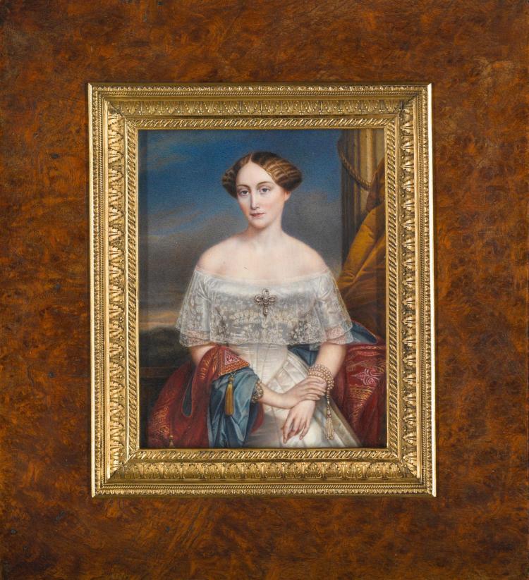 19TH CENTURY SCHOOL | Grand Duchess Olga Nikolaevna of Russia, after Nicaise de Keyser