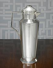 AN AMERICAN SILVER MODERNIST COCKTAIL SHAKER, ERIK MAGNUSSEN FOR GORHAM MFG. CO., PROVIDENCE, RI, CIRCA 1925 |