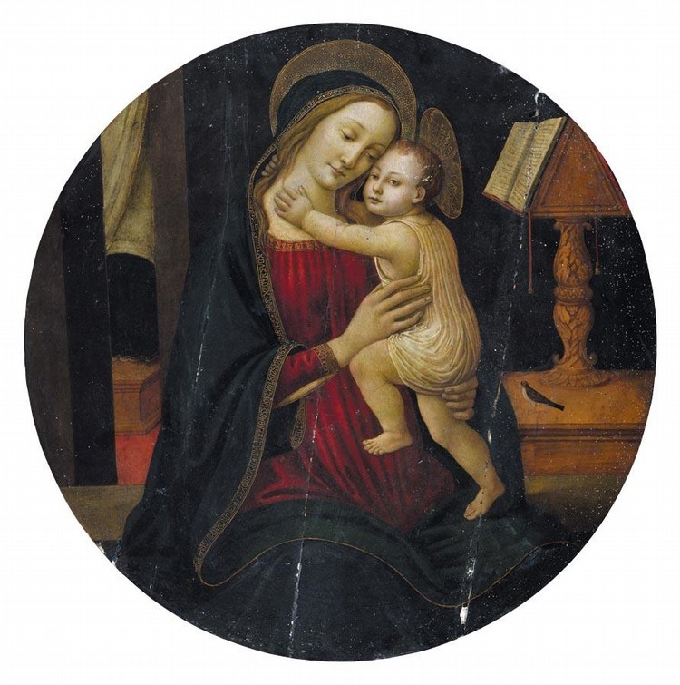 THE PROPERTY OF A PRIVATE COLLECTOR ARCANGELO DI JACOPO DEL SELLAIO FLORENCE CIRCA 1477/8 - 1530