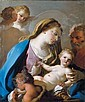 FRANCESCO DE MURA NAPLES 1696 - 1782 THE HOLY FAMILY WITH THE INFANT SAINT JOHN THE BAPTIST, Francesco de Mura, Click for value
