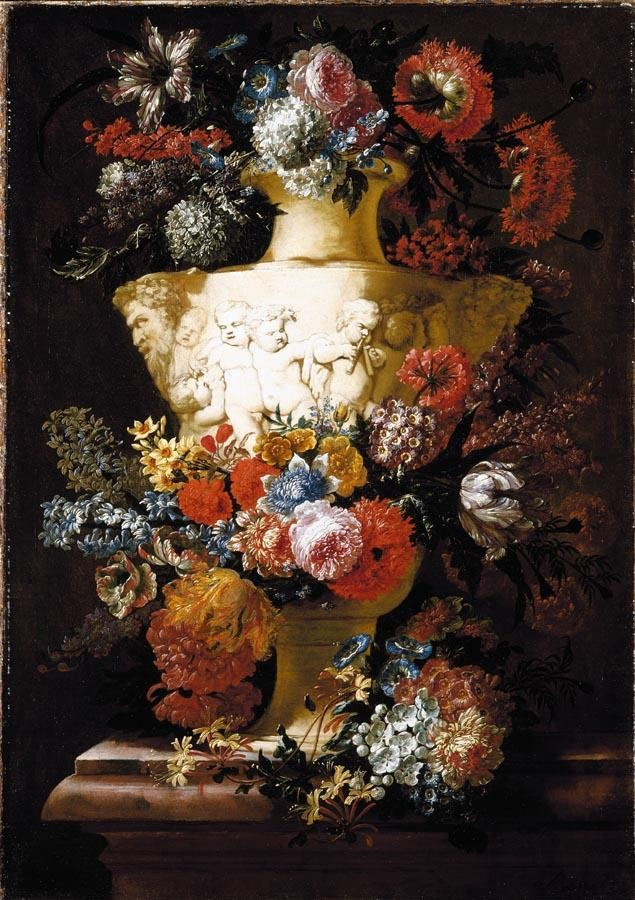 PROPERTY FROM A PRIVATE COLLECTION JAN BAPTIST BOSSCHAERT ANTWERP 1667 - 1746 STILL LIFE OF
