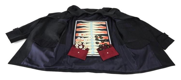 HUNTSMAN BESPOKE BACKGAMMON JACKET | Amba Jackson