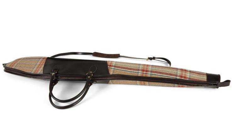 HUNTSMAN TWEED COVERED RIFLE SLIP | Simpson Leather London
