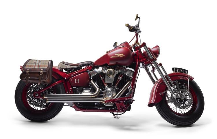 2018 HUNTSMAN CUSTOM HARLEY-DAVIDSON SOFTAIL SLIM FLS, 1753CC | Warr's Harley-Davidson London