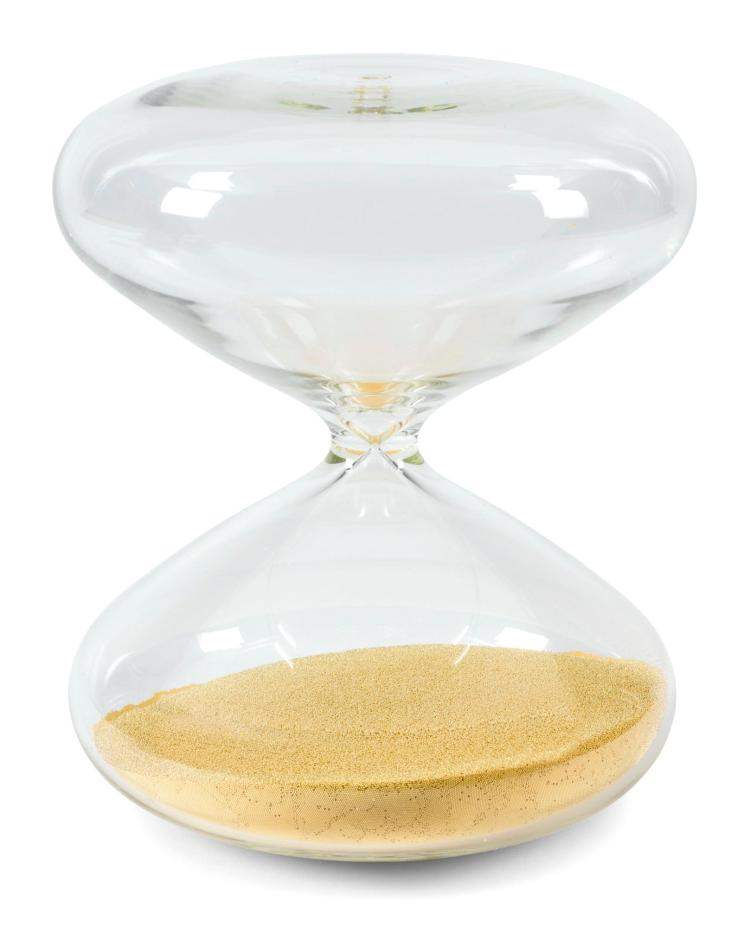 THE HOURGLASS BY MARC NEWSON FROM THE COLLECTION OF HUNTSMAN'S CHAIRMAN |