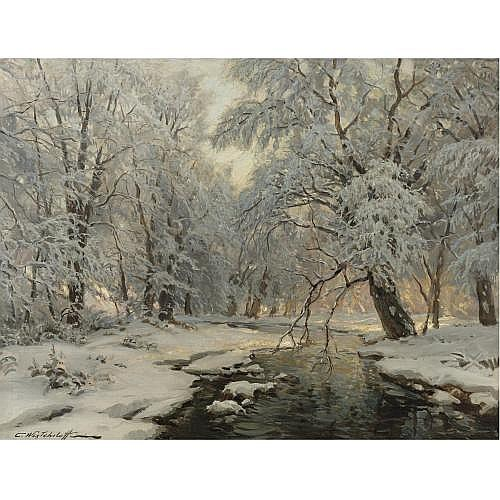 Constantin Westchiloff , Winter in the Forest