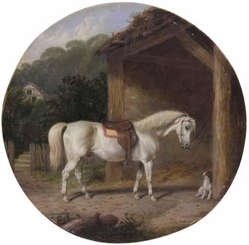MARTIN THEODORE WARD, BRITISH 1799-1874