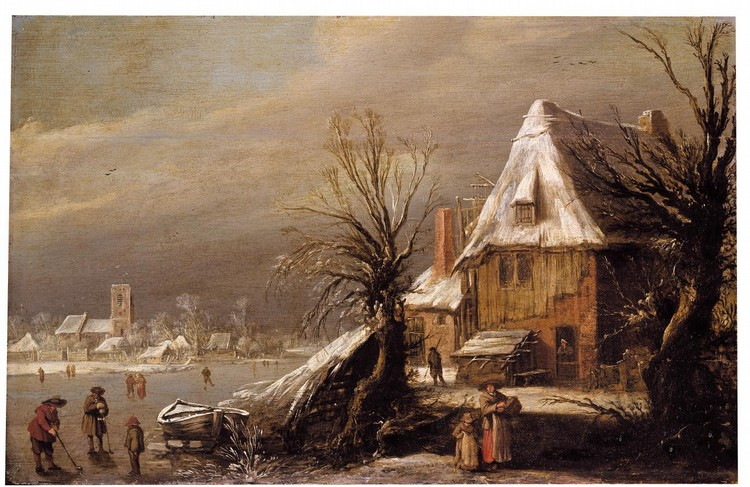 PROPERTY FROM AN ENGLISH PRIVATE COLLECTION ESAIAS VAN DE VELDE AMSTERDAM 1587 - 1630 THE HAGUE A