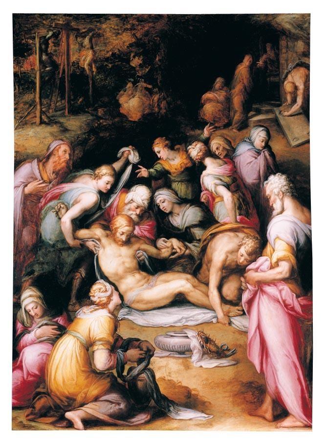 PROPERTY FROM A PRIVATE COLLECTION GIOVANNI BATTISTA NALDINI FIESOLE CIRCA 1537 - 1591 FLORENCE