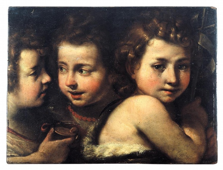 PROPERTY FROM A FAMILY COLLECTION GIULIO CESARE PROCACCINI BOLOGNA 1574 - 1625 MILAN STUDY OF