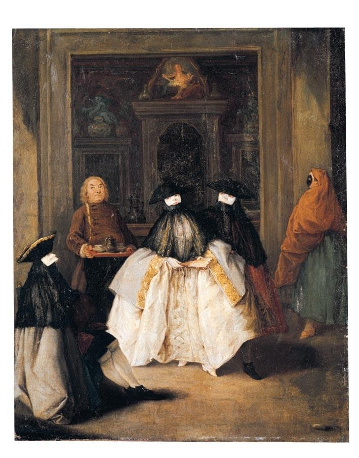 PROPERTY FROM THE COLLECTION OF SON ALTESSE LE PRINCE DE LIGNE PIETRO LONGHI VENICE 1701- 1785 THE